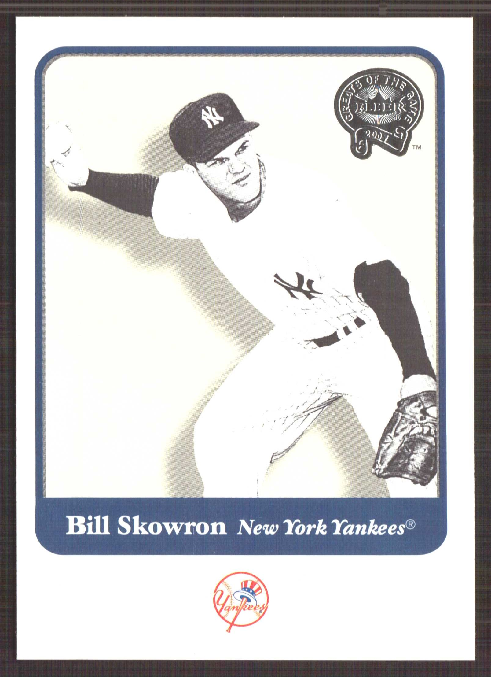 2001 Greats of the Game #90 Bill Skowron