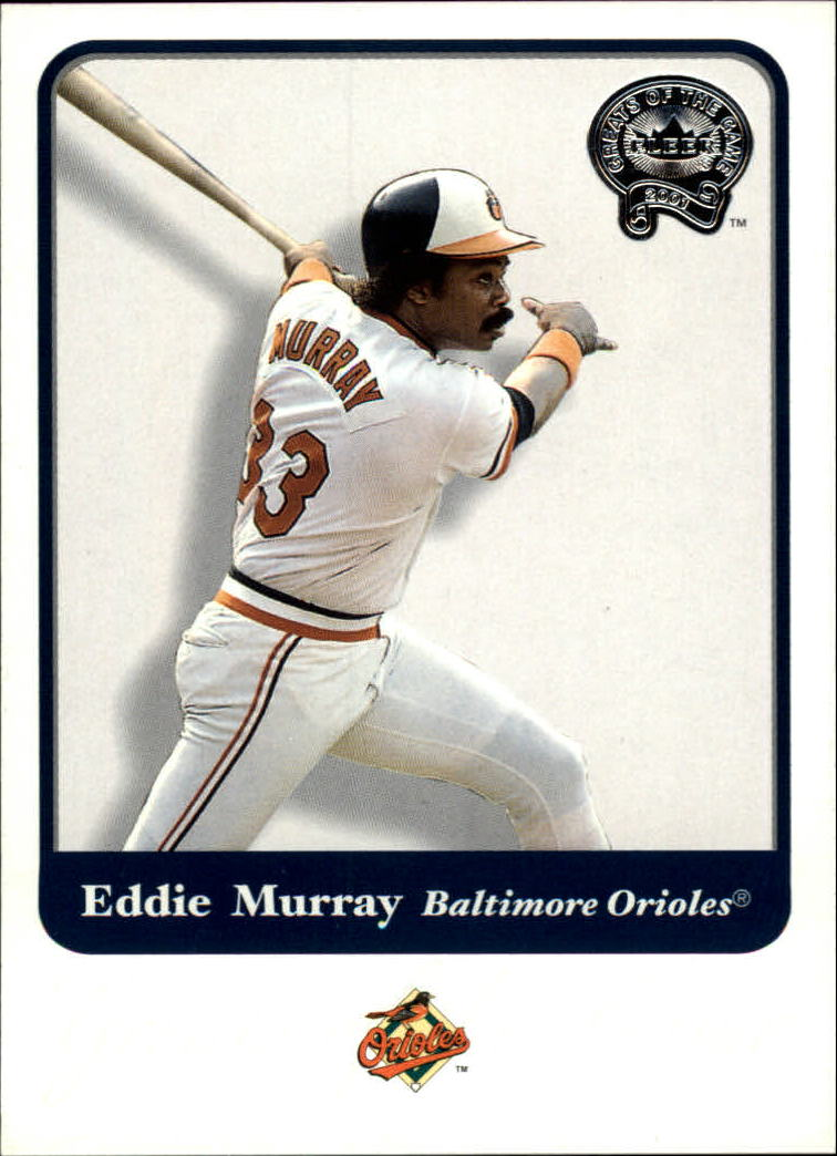 2001 Greats of the Game #93 Eddie Murray