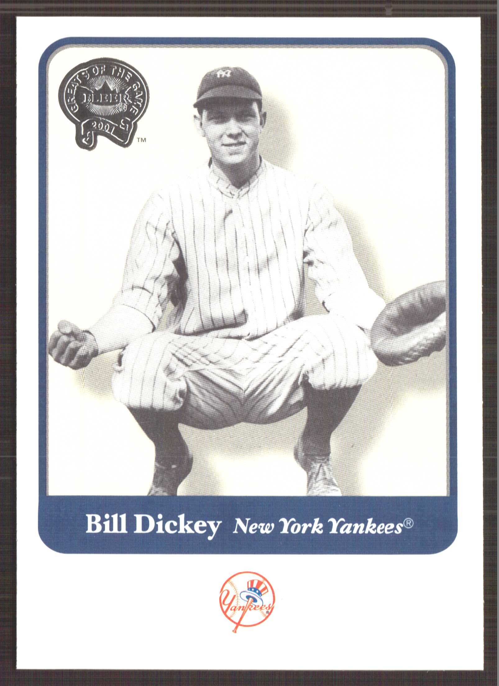 2001 Greats of the Game #96 Bill Dickey