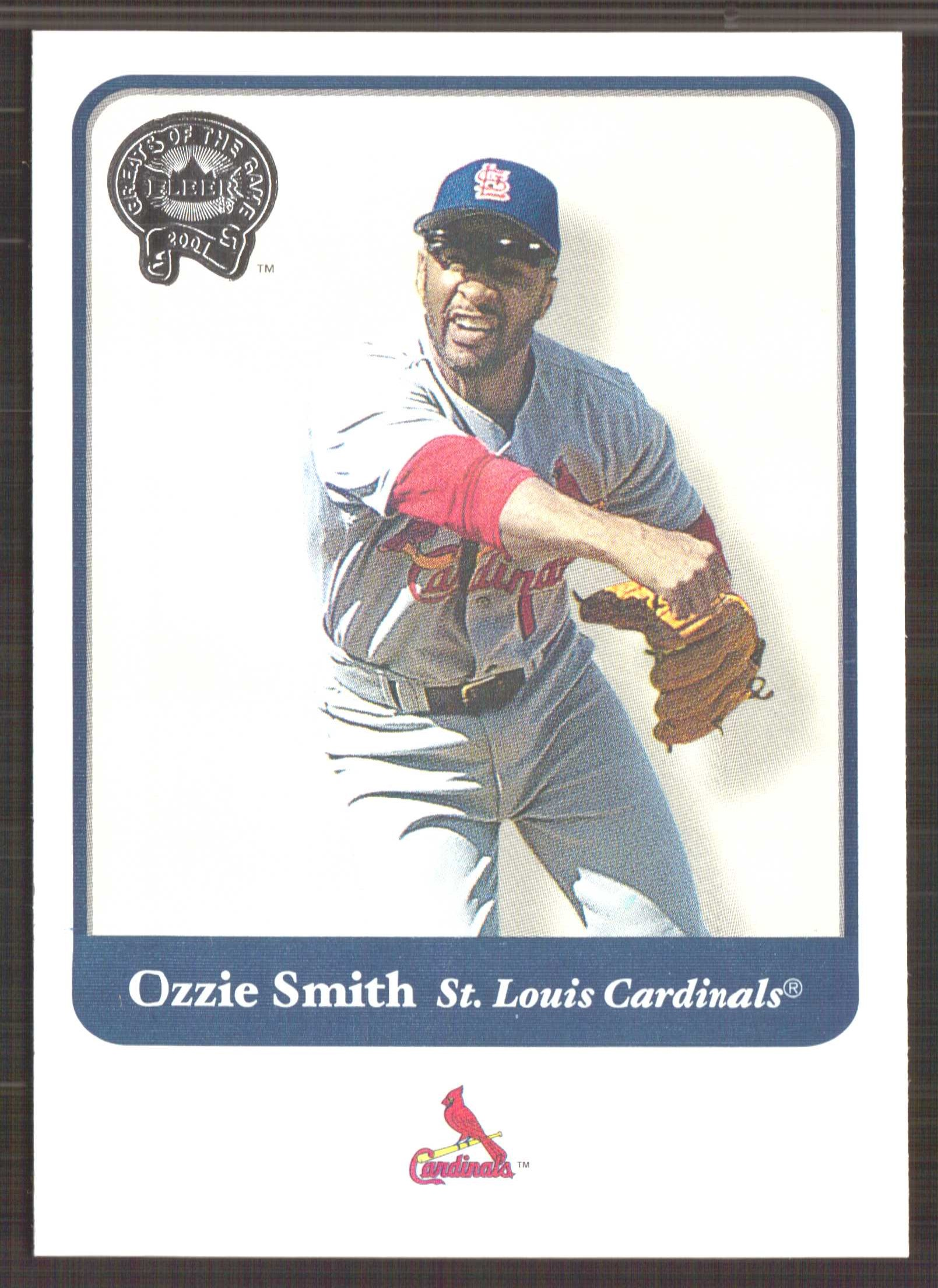 2001 Greats of the Game #97 Ozzie Smith