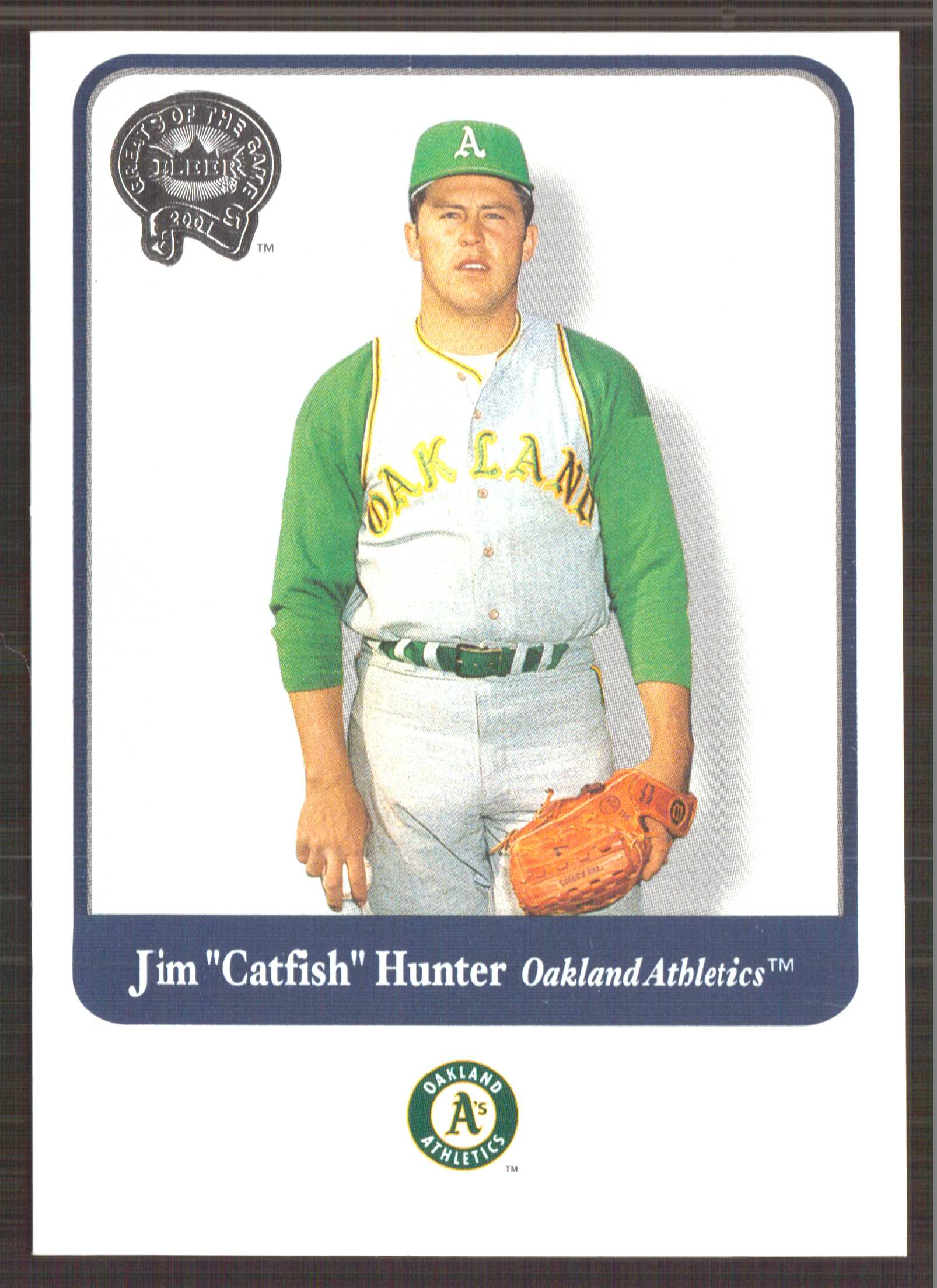 2001 Greats of the Game #101 Jim Hunter