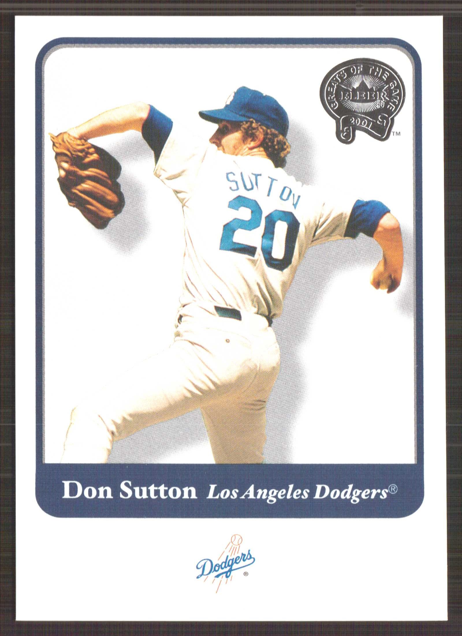 2001 Greats of the Game #102 Don Sutton