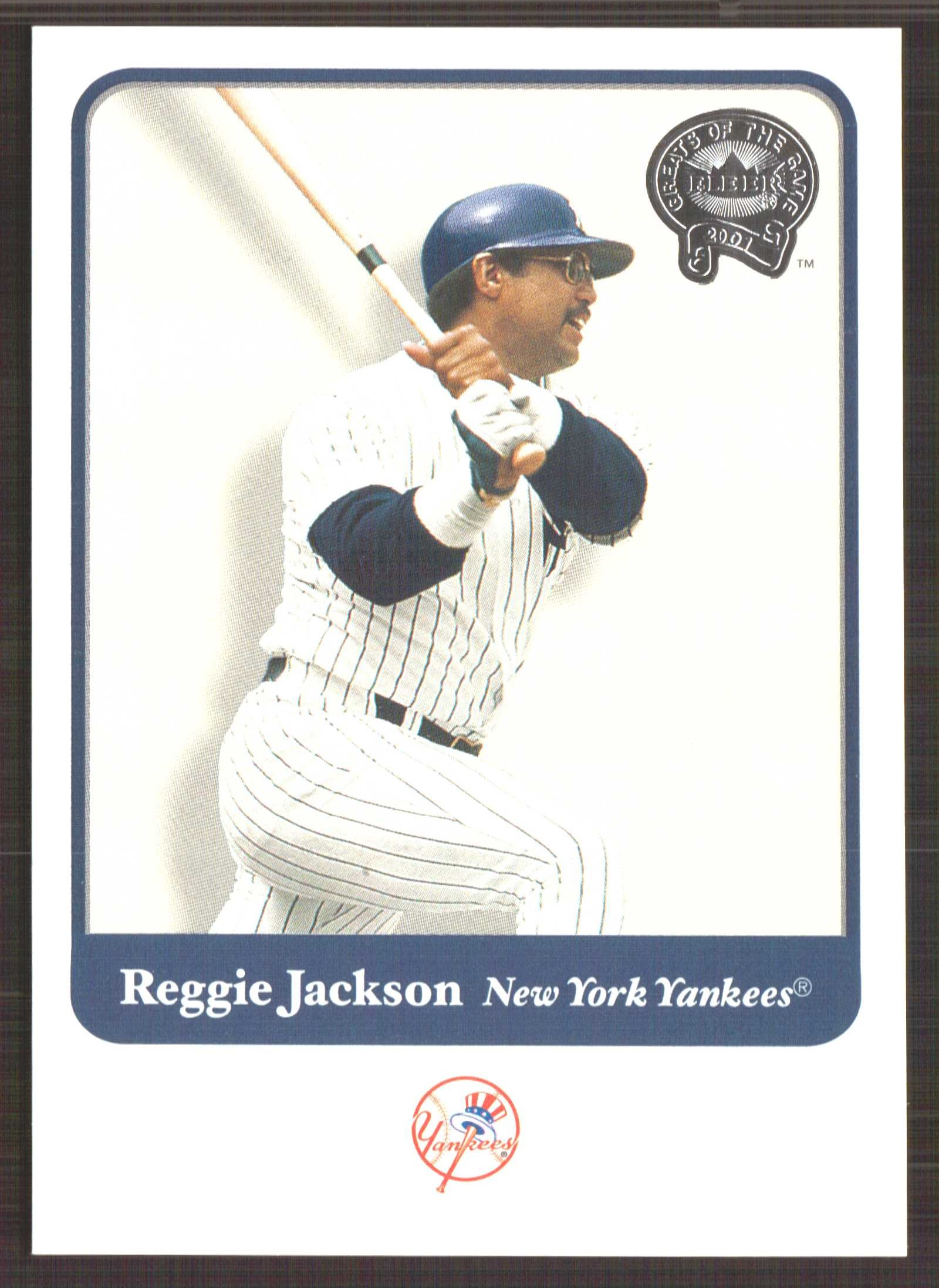 2001 Greats of the Game #104 Reggie Jackson front image