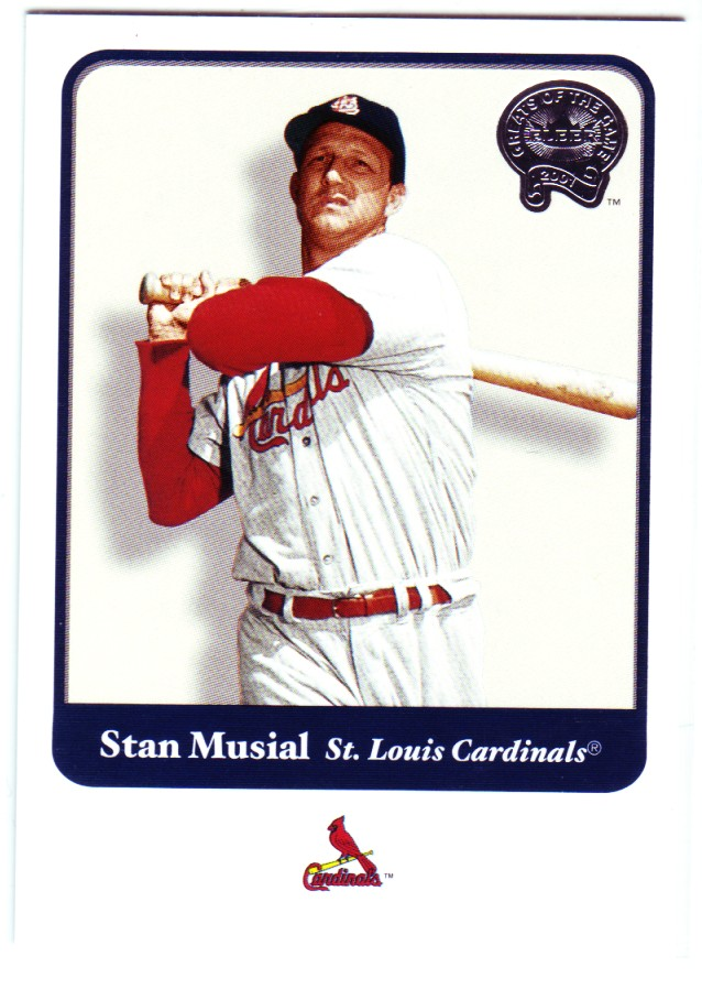 2001 Greats of the Game #109 Stan Musial