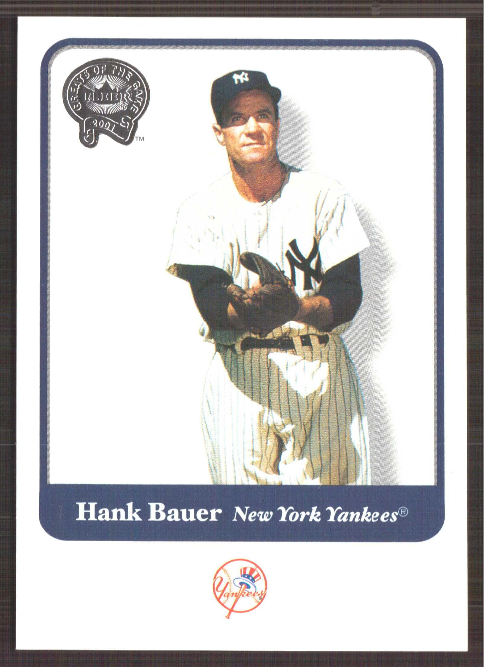 2001 Greats of the Game #113 Hank Bauer