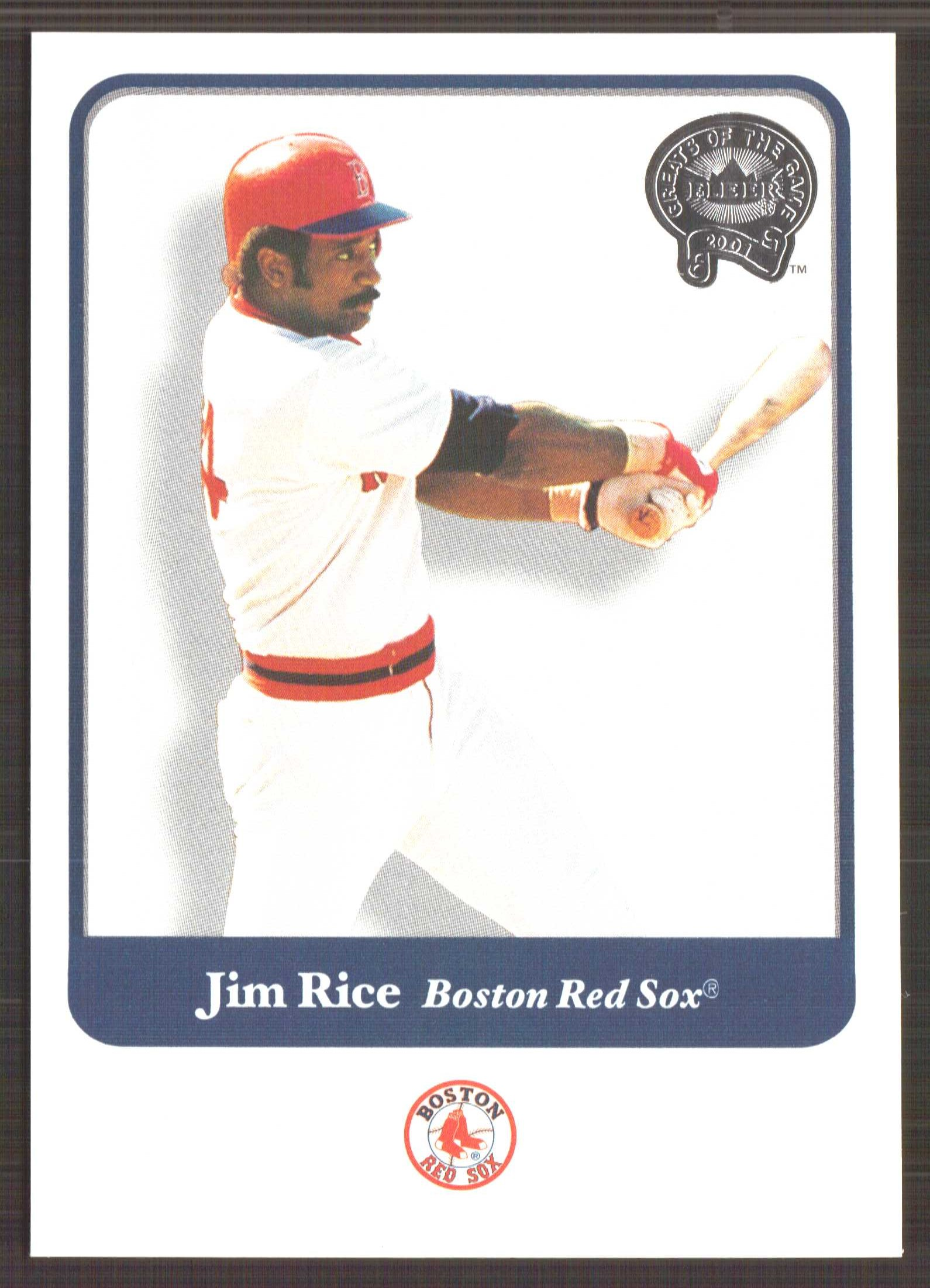 2001 Greats of the Game #114 Jim Rice