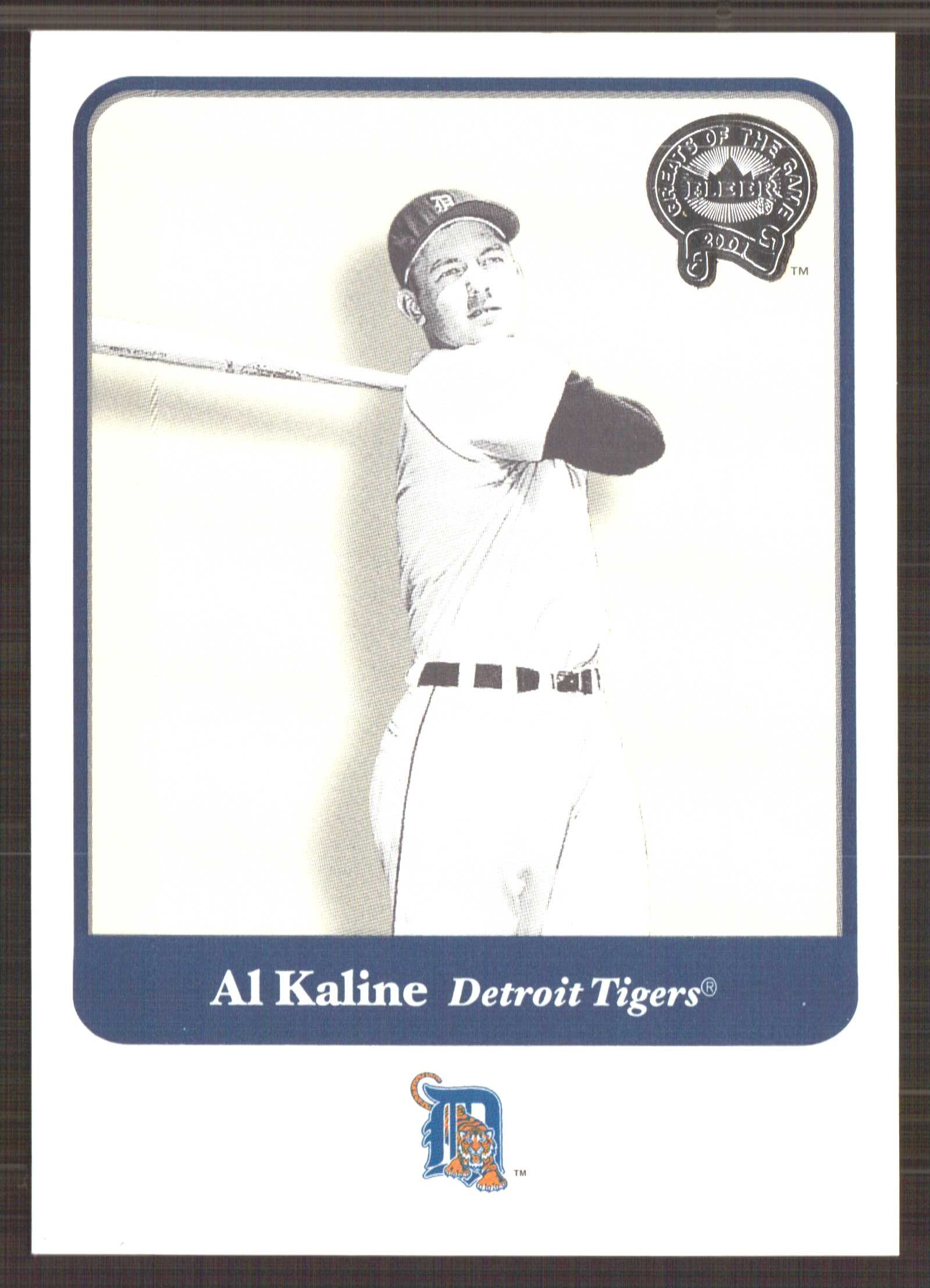 2001 Greats of the Game #117 Al Kaline front image