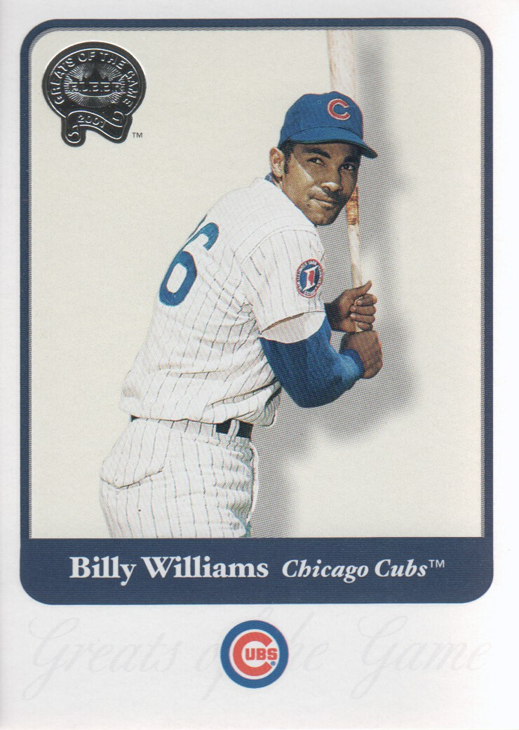 2001 Greats of the Game #118 Billy Williams