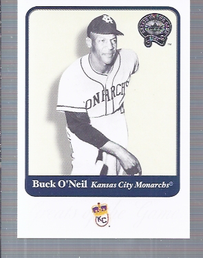 2001 Greats of the Game #119 Buck O'Neil