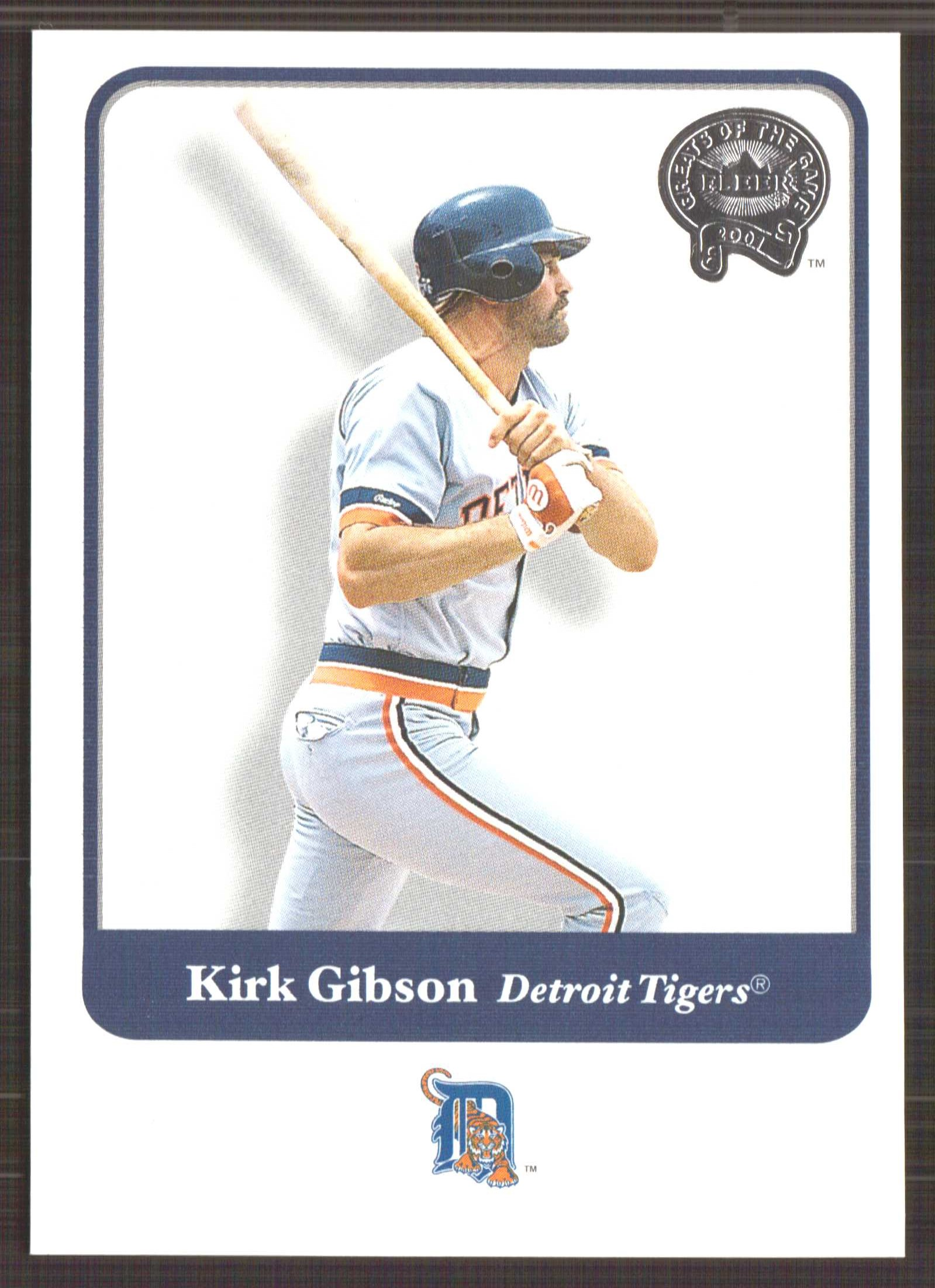 2001 Greats of the Game #122 Kirk Gibson