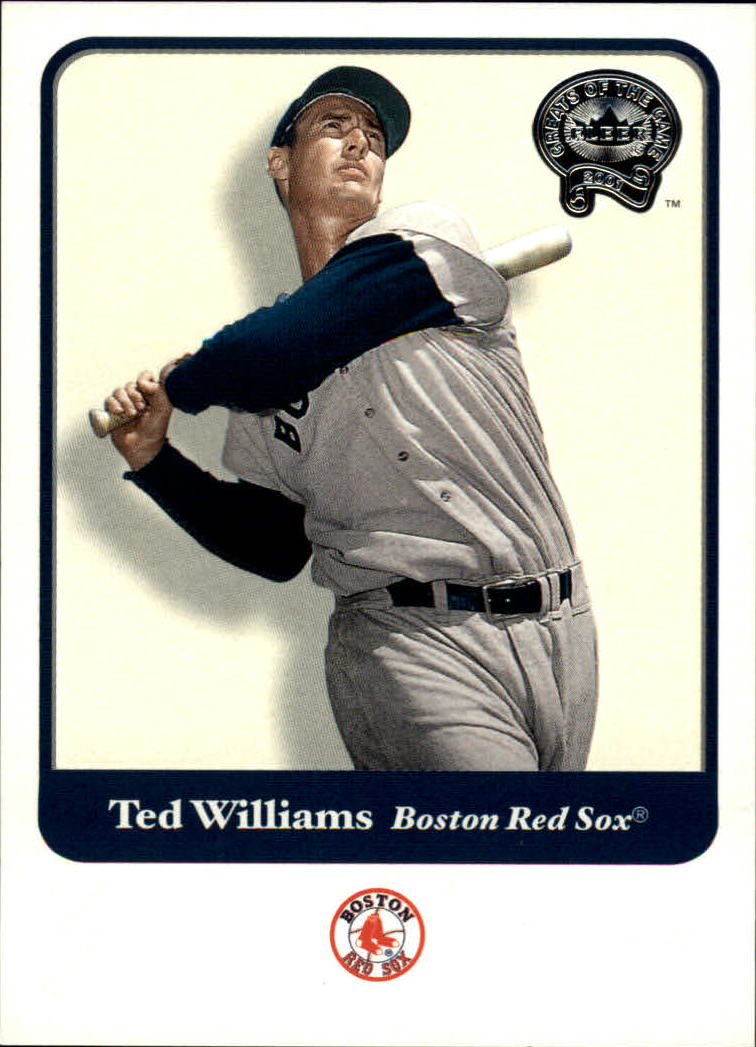 2001 Greats of the Game #124 Ted Williams