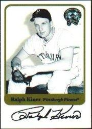 2001 Greats of the Game Autographs #44 Ralph Kiner