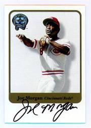 2001 Greats of the Game Autographs #56 Joe Morgan
