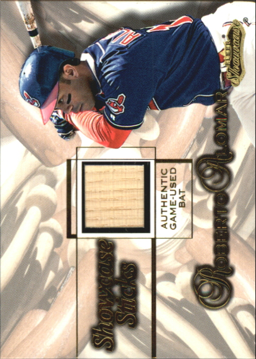 2001 Fleer Showcase Sticks #1 Roberto Alomar
