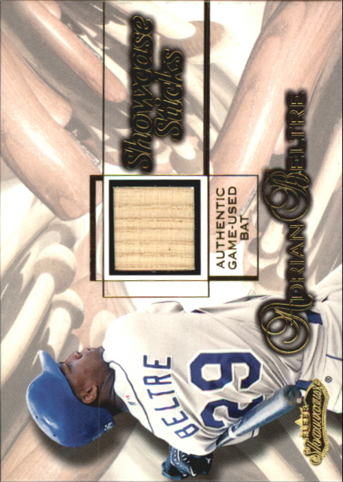 2001 Fleer Showcase Sticks #3 Adrian Beltre
