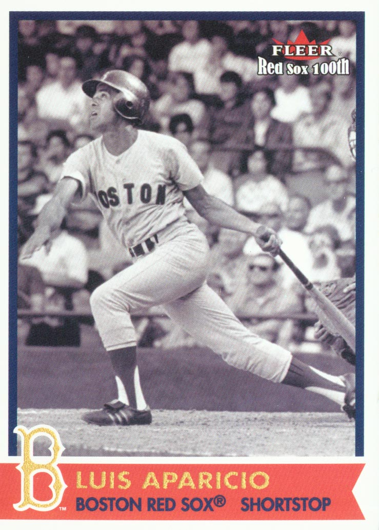 2001 Fleer Red Sox 100th #11 Luis Aparicio