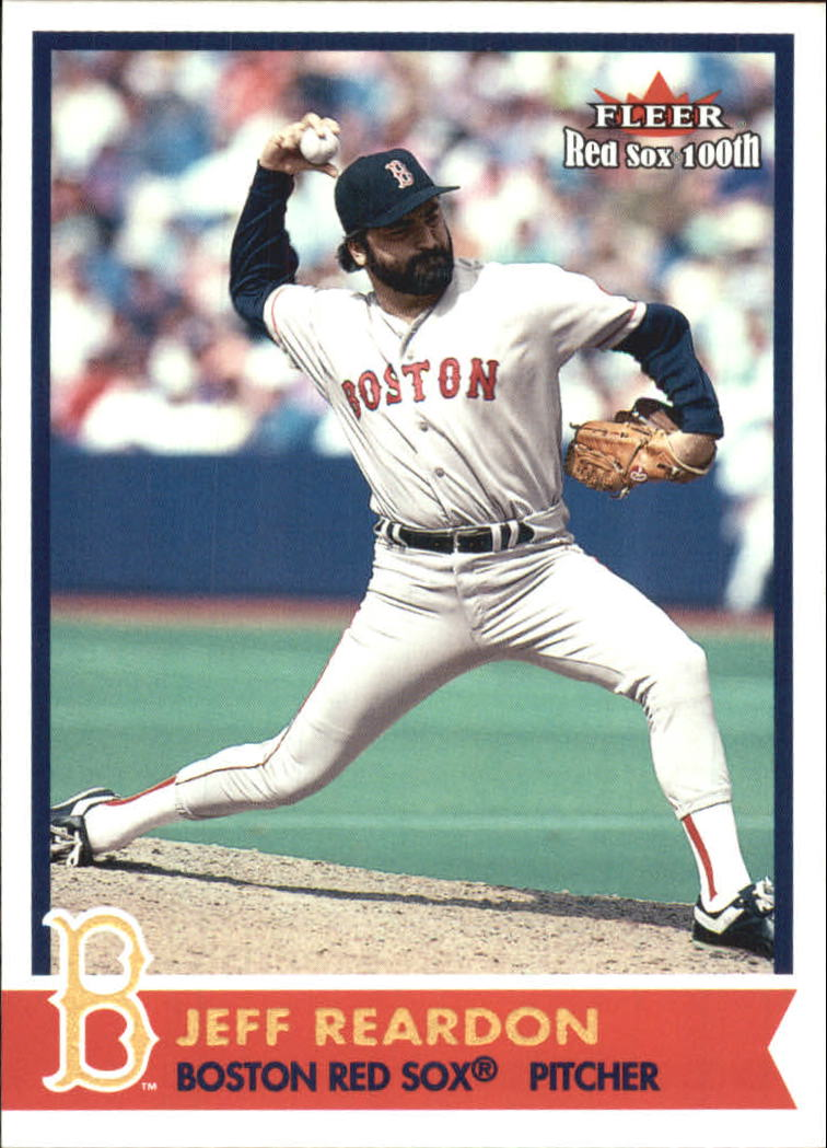 2001 Fleer Red Sox 100th #28 Jeff Reardon