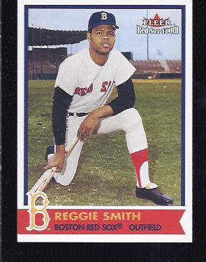 2001 Fleer Red Sox 100th #48 Reggie Smith