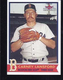 2001 Fleer Red Sox 100th #66 Carney Lansford