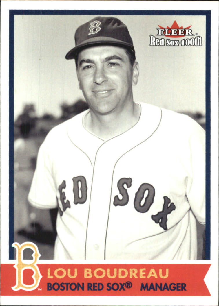2001 Fleer Red Sox 100th #70 Lou Boudreau MGR