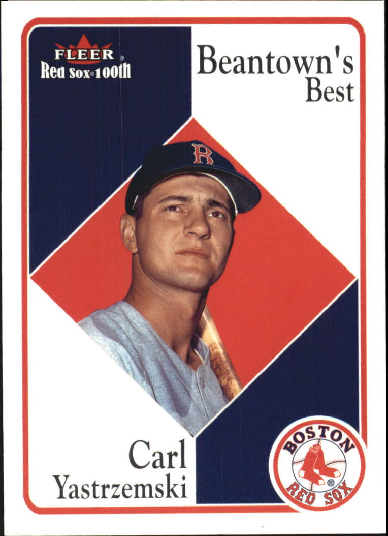 2001 Fleer Red Sox 100th #78 Carl Yastrzemski BB