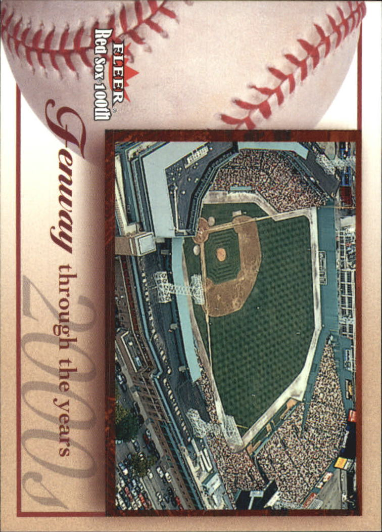2001 Fleer Red Sox 100th #98 Fenway Park