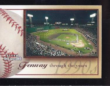 2001 Fleer Red Sox 100th #100 Fenway Park