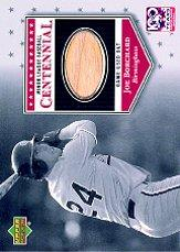 2001 Upper Deck Minors Centennial Game Bat #BJB Joe Borchard