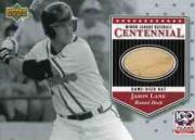 2001 Upper Deck Minors Centennial Game Bat #BJL Jason Lane