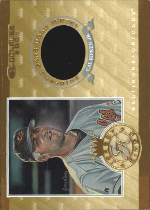 2001 Donruss Jersey Kings #JK2 Cal Ripken