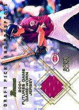 2001 Bowman Draft Futures Game Relics #FGRAD Adam Dunn