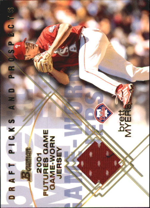 2001 Bowman Draft Futures Game Relics #FGRBM Brett Myers