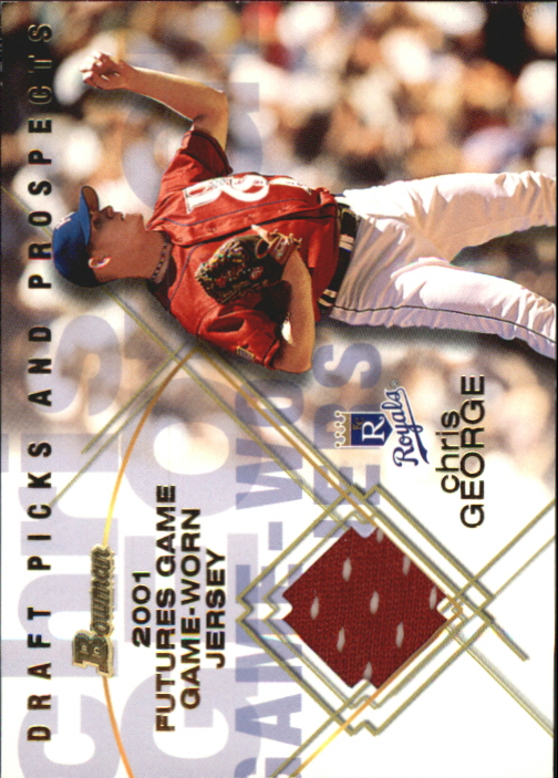 2001 Bowman Draft Futures Game Relics #FGRCG Chris George