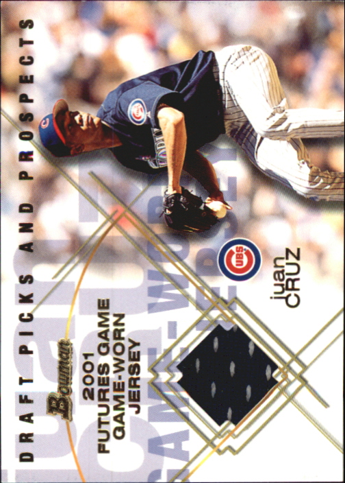 2001 Bowman Draft Futures Game Relics #FGRJC Juan Cruz