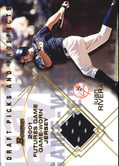2001 Bowman Draft Futures Game Relics #FGRJR Juan Rivera