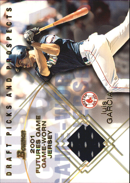 2001 Bowman Draft Futures Game Relics #FGRLG Luis Garcia