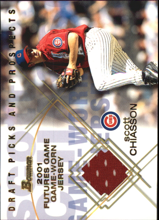 2001 Bowman Draft Futures Game Relics #FGRSC Scott Chiasson
