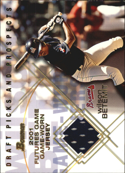 2001 Bowman Draft Futures Game Relics #FGRWB Wilson Betemit