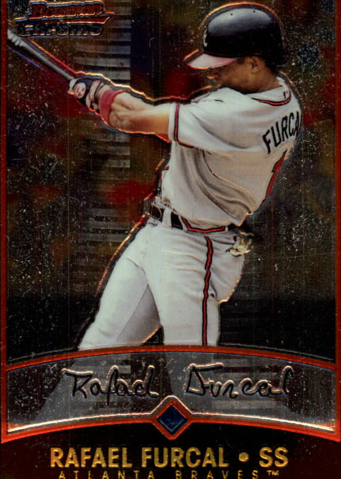 2001 Bowman Chrome #2 Rafael Furcal