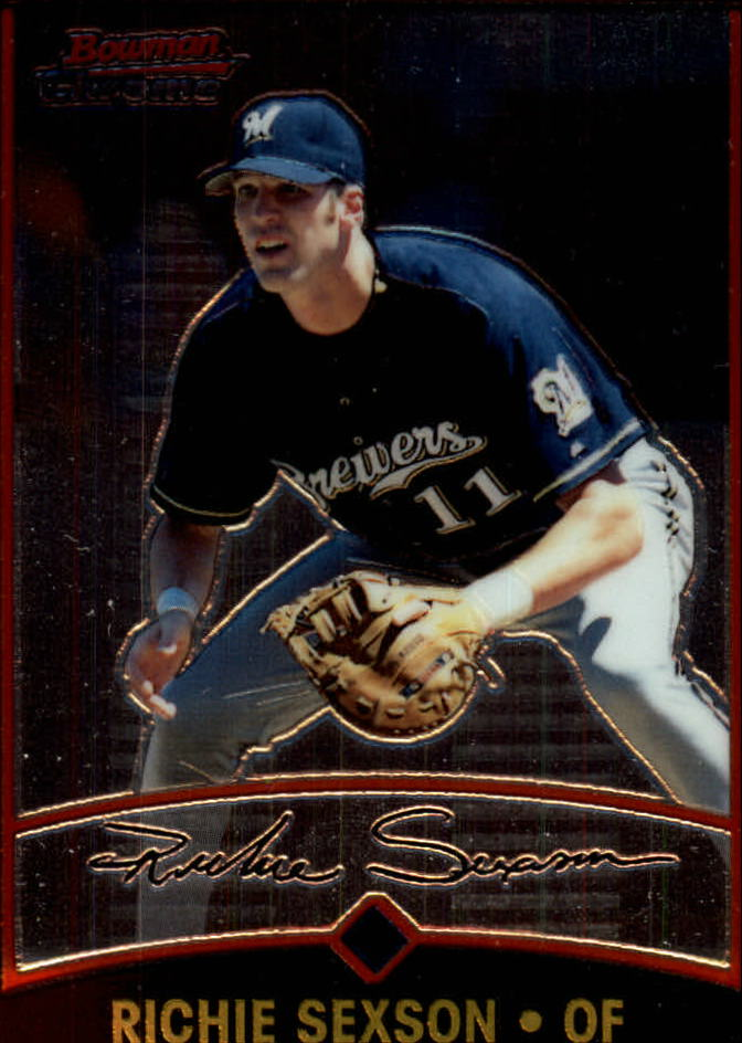 2001 Bowman Chrome #11 Richie Sexson