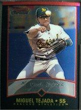 2001 Bowman Chrome #36 Miguel Tejada