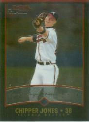2001 Bowman Chrome #37 Chipper Jones