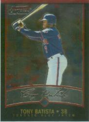 2001 Bowman Chrome #39 Tony Batista