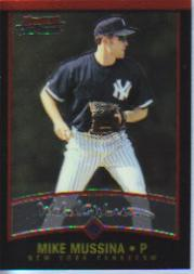 2001 Bowman Chrome #46 Mike Mussina