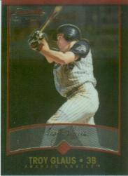 2001 Bowman Chrome #50 Troy Glaus