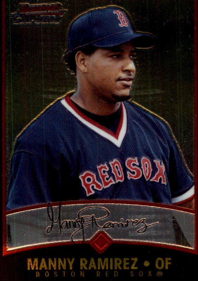 2001 Bowman Chrome #65 Manny Ramirez Sox
