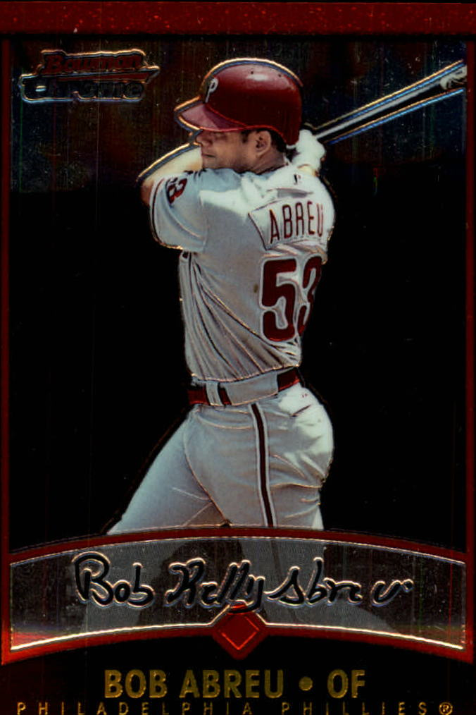 2001 Bowman Chrome #80 Bob Abreu
