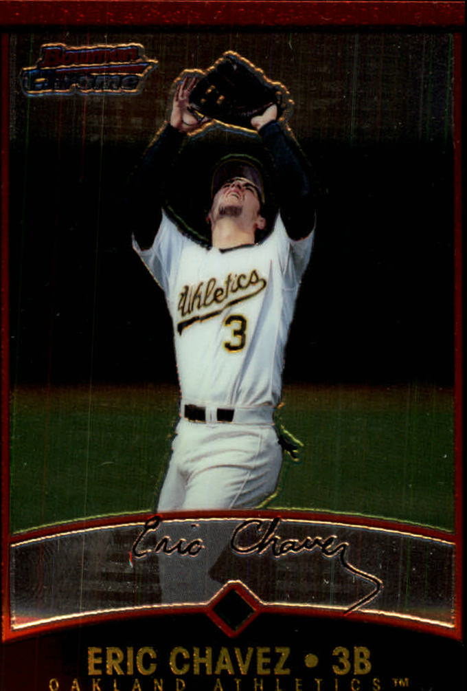 2001 Bowman Chrome #88 Eric Chavez