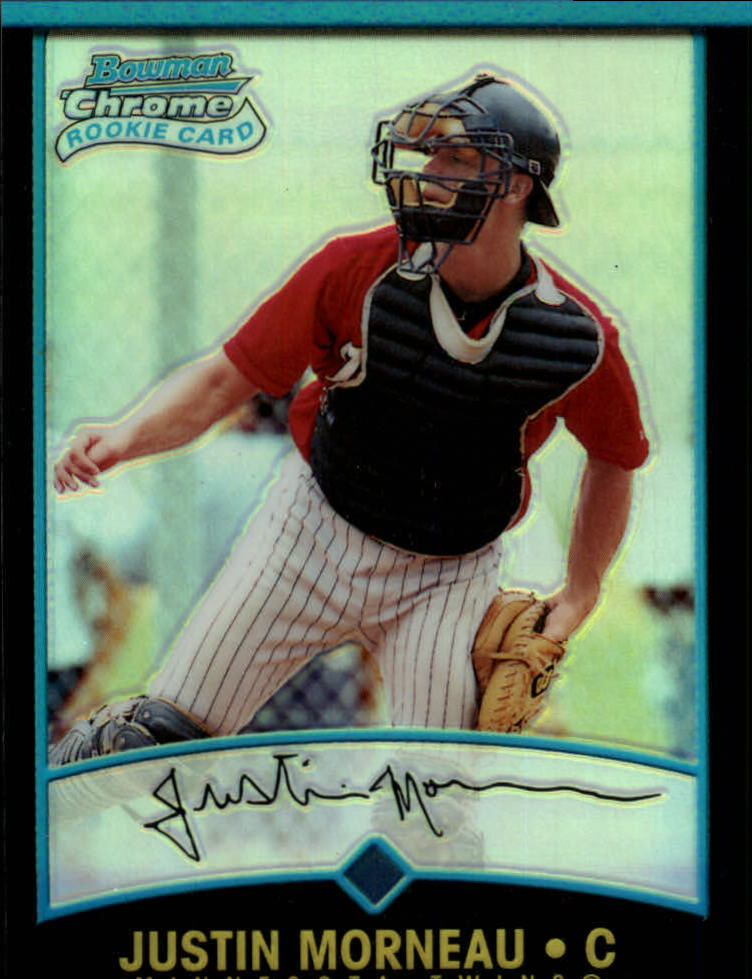2001 Bowman Chrome #169 Justin Morneau RC