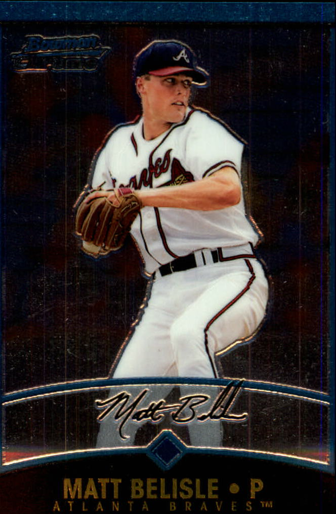 2001 Bowman Chrome #217 Matt Belisle